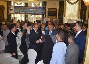 """وزير القوى العاملة يتفقد أقسام الإنتاج بشركة """"أميسال"""" في الفيوم"""