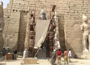 نقل تمثال رمسيس الثانى إلى مقره الجديد فى 25 يناير