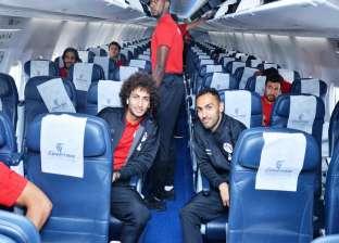 """اليوم.. """"مصر للطيران"""" تقل بعثة المنتخب إلى سوازيلاند على متن رحلة خاصة"""