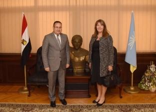 محافظ الإسكندرية يبحث مع قنصل بريطانيا سبل تعزيز وتدعيم العلاقات
