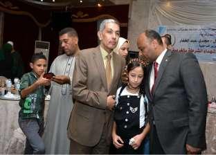 بالصور  مديرية أمن الغربية تنظم حفل إفطار لأسر الشهداء