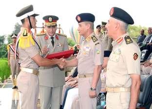 بالصور| وزير الدفاع يشهد حفل تخرج الدفعة 154 من كلية الضباط الاحتياط