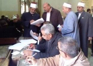 رئيس منطقة الأزهر الشرقية يتابع أعمال تصحيح الامتحانات