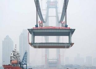 الصين تفاجئ العالم بأطول جسر معلق في العالم