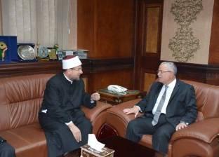 وزير الأوقاف يصل جامعة المنيا لافتتاح مؤتمر كلية دار العلوم الدولي