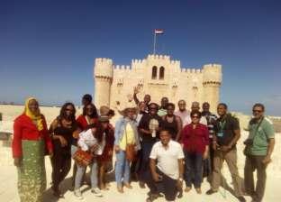 """""""الأعلى للإعلام"""" ينظم رحلة لوفد الإذاعيين الأفارقة إلى الإسكندرية"""