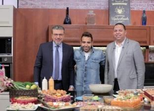 """الليلة.. عمرو الليثي يحتفل مع محمد عدوية بشم النسيم على """"النهار"""""""