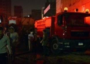 مجهولون يشعلون النيران في مخزن مجلس مدينة ميت غمر