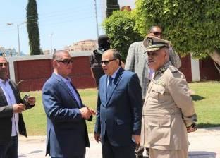 بالصور| مدير أمن كفر الشيخ والمحافظ يتفقدان الحالة المرورية
