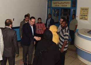 محافظ الإسكندرية: إجراء 56 عملية لحالات الانتظار من أصل 112 بالقباري