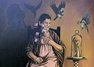 مشروع تخرج «آية»: لوحة لوالدتها تدعم بها مرضى السرطان