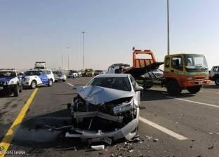 """إصابة 4 أشخاص في حادث على طريق """"بلبيس - العاشر من رمضان"""""""