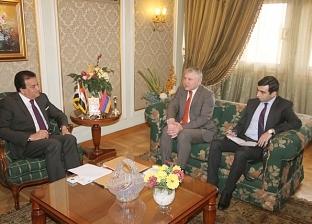 """""""عبدالغفار"""" يستقبل سفير أرمينيا لبحث التعاون العلمي بين البلدين"""