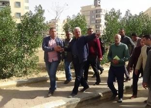 بالصور  محافظ السويس يتابع إزالة آثار الأمطار بجميع الأحياء
