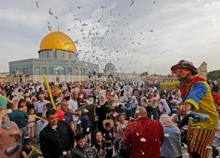 بالصور| صلاة العيد في مصر وعدد من الدول الإسلامية