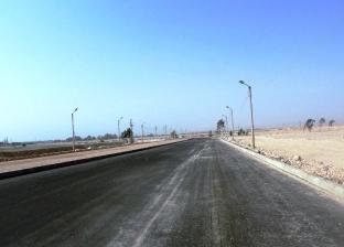 توسعة ورصف طريق المنطقة الصناعية بقرية الأحايوة بسوهاج بـ7 ملايين جنيه