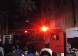 حريق داخل مصنع موبيليا بالمنطقة الصناعية في السلام