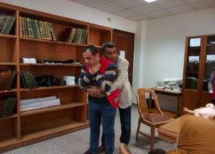بالصور| الهلال الأحمر المصري يعقد دورة الإسعافات الأولية في دمياط