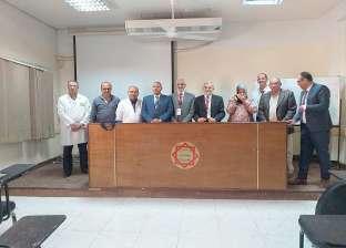 مستشفى الفيوم العام يحصل على الزمالة المصرية في الكبد والمناظير