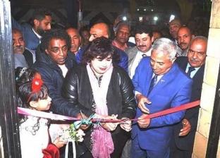 بالصور| افتتاح قصر ثقافة الرديسية بأسوان.. وعبدالدايم: سعادتي بالغة