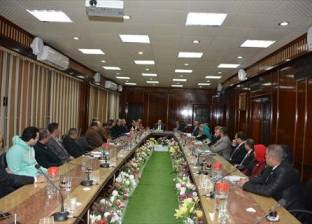 محافظ الدقهلية يلتقي أعضاء المنظمة المصرية الدولية لحقوق الإنسان