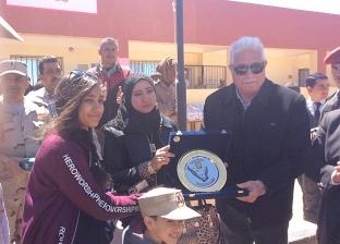 محافظ جنوب سيناء يكرم أسرة الشهيد العقيد محمد فاروق