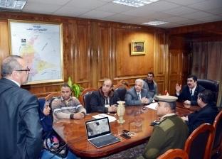 محافظ القليوبية يبحث رصف طرق الخانكة استعدادا لافتتاح«صوامع الغلال»