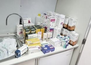 ضبط 14 ألف عبوة أدوية مهربة بمخزن مستشفى بالإسكندرية