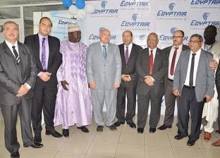 مطار دوالا بالكاميرون يستقبل أولى رحلات مصر للطيران