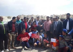 عبد الواحد السيد يشهد ختام برنامج تشجيع ممارسة الرياضة بجنوب سيناء