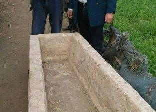 العثور على تابوت أثري يزن 30 طنا أسفل عقار بالإسكندرية