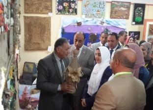 """وكيل """"تعليم دمياط"""" يشهد افتتاح مهرجان الأنشطة ويوم المهن لرياض الأطفال"""