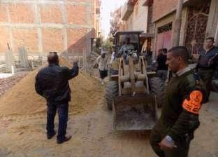 تنفيذ 121 إزالة وتحرير 28 محضرا مخالفا ببني مزار بالمنيا