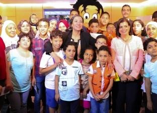 """وزيرة البيئة تفتتح معرض رسوم الأطفال """"الطبيعة حلوة.. بس نرسمها"""""""