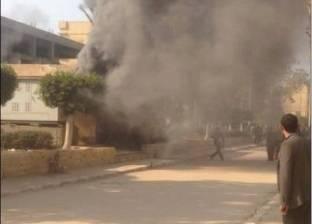 الحماية المدنية تسيطر على حريق بأحد المحال في المهندسين