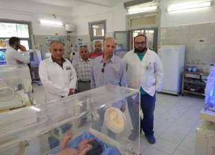 """وكيل """"صحة الشرقية"""" يتفقد مستشفى كفر صقر ووحدة طب الأسرة بحانوت"""