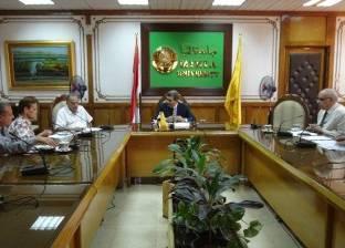 جامعة المنيا تناقش الحساب الختامي ومصروفات وإيرادات مطبعتها