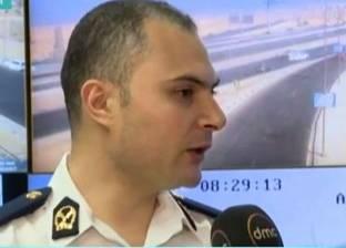 """""""المرور"""": إشغالات على طريق """"القاهرة - بلبيس"""" لمدة عام"""