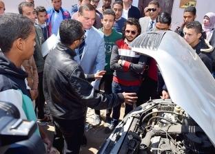 جامعة سوهاج تبدأ حزمة دوراتها التدريبية ضمن مبادرة «صنايعية مصر»