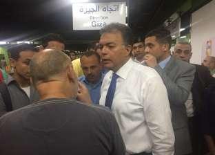 عرفات: الخط الثالث ينقل 300 ألف راكب يوميا من محطة هارون لنادي الشمس
