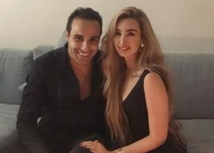 """أحمد فهمي لخطيبته: """"دورك جامد قوى وأنا دايما فخور بيكي"""""""