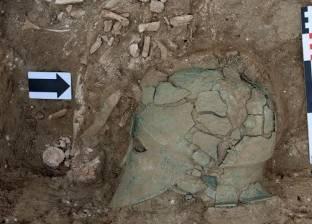 """العثور على """"خوذة"""" من البرونز بروسيا تعود إلى القرن الخامس قبل الميلاد"""