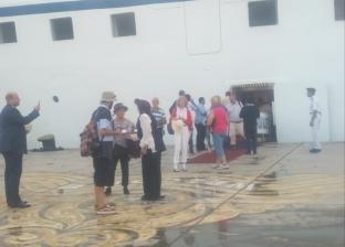 ميناء بورسعيد السياحي يستقبل السفينة البرتغالية ocEAn MajEsty