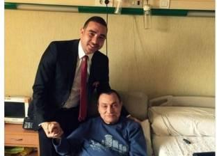 أدمن «آسف يا ريس»: الابتسامة عادت لمبارك أخيرا.. وحفيده يروّج للسياحة