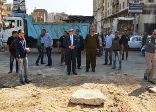 محافظ سوهاج: إنشاء ساحة انتظار سيارات بميدان العارف بالله