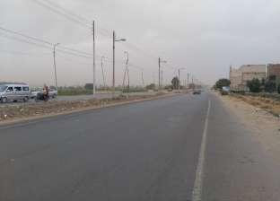 """غلق طريق """"الشيخ فضل- رأس غارب"""" في المنيا بسبب الطقس السيئ"""