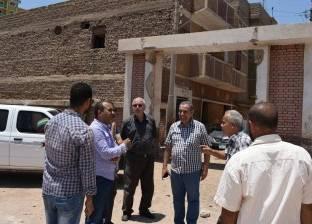 إنشاء مجمع مدارس بمدينة أبو قرقاص في المنيا