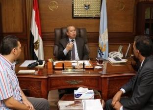 """""""التخطيط"""" تبحث تشغيل المراكز التكنولوجية بالخدمات الحكومية بكفر الشيخ"""