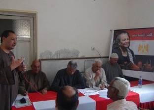 بالصور| القوى السياسية بالمنوفية تحتفل بذكرى الشهيد صلاح حسين في كمشيش
