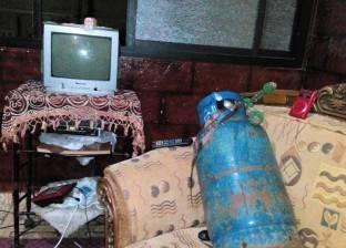 انفجار أسطوانة بوتاجاز داخل سوق بنها دون خسائر بشرية